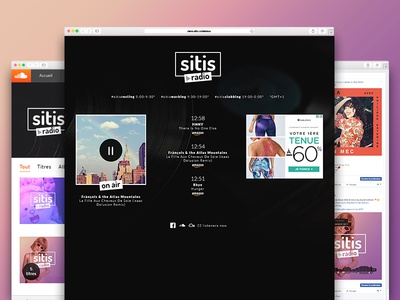 Sitis Radio webradio urban indie easy listening new wave electro lifestyle chill alternative french coolstuff