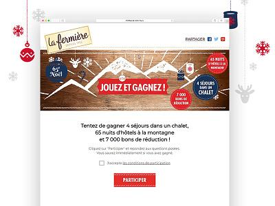 Jeu concours La Fermière play contest game concours jeu