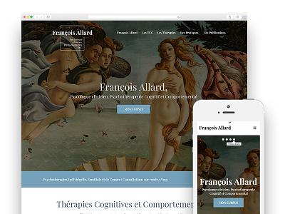 François Allard cognitive psychologie tcc thérapiedecouples thérapies psy