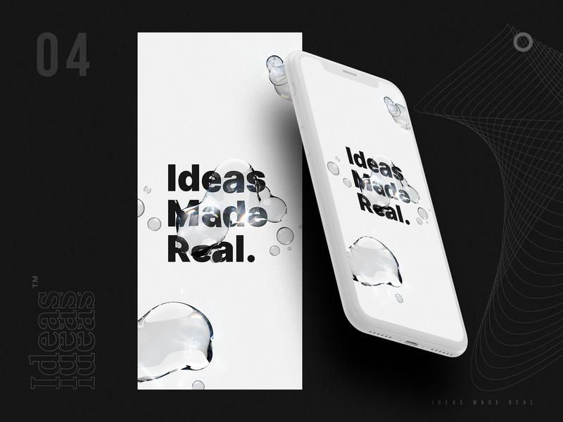 Ideas Made Real concept design concept art iphonex digital art digital design wallpaper design