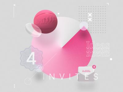 Dribbble Invites product design uiux designer dribbble invite invite dribbble poster composition digitalart design