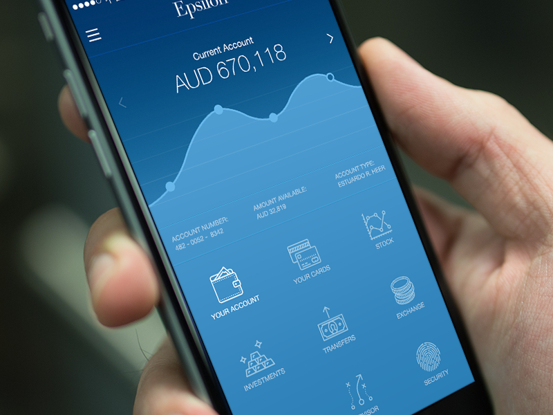 Dashboard ~ Mobile Banking mobile app ios iphone ux ui design interactive web product product design