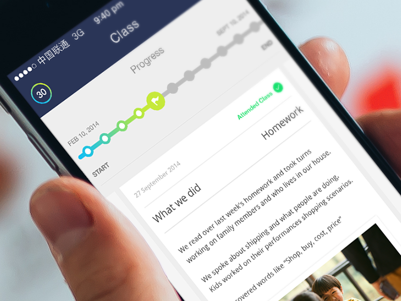Progress app mobile ios progress iphone dashboard ui ux track