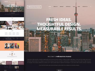 creative studio demo design layout
