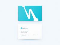 Hashnode Business Cards Design