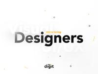 Digit is hiring 👨💼👩💼