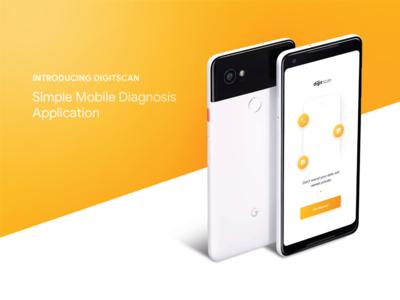 Digit Scan  /  UI UX Mobile App 🔍