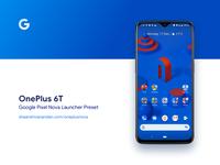💯 One Plus 6T  /  Nova Launcher Preset 💯