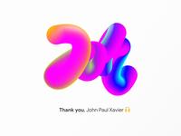 🔷🔶 Neon Gradient Typography 🔷🔶