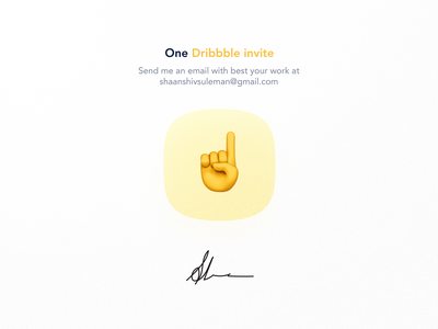 🎟 Dribbble Invite Giveaway 🎟