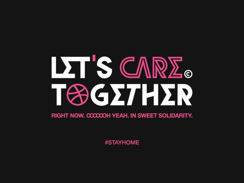 Let's Care© Together typo street art brutalism weeklywarmup weekly warm-up font bundle typographic typography art typeface fonts font awesome font family font design font logo design type typography coronavirus stayhome typogaphy