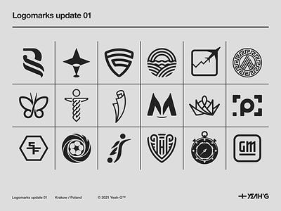 Logomarks update 01 symbols symbol design visual identity logo construction brandings brand logomark logomarks logo grid logo designs logo designer modern modernism brand identity logotype logodesign branding design logo design branding logo