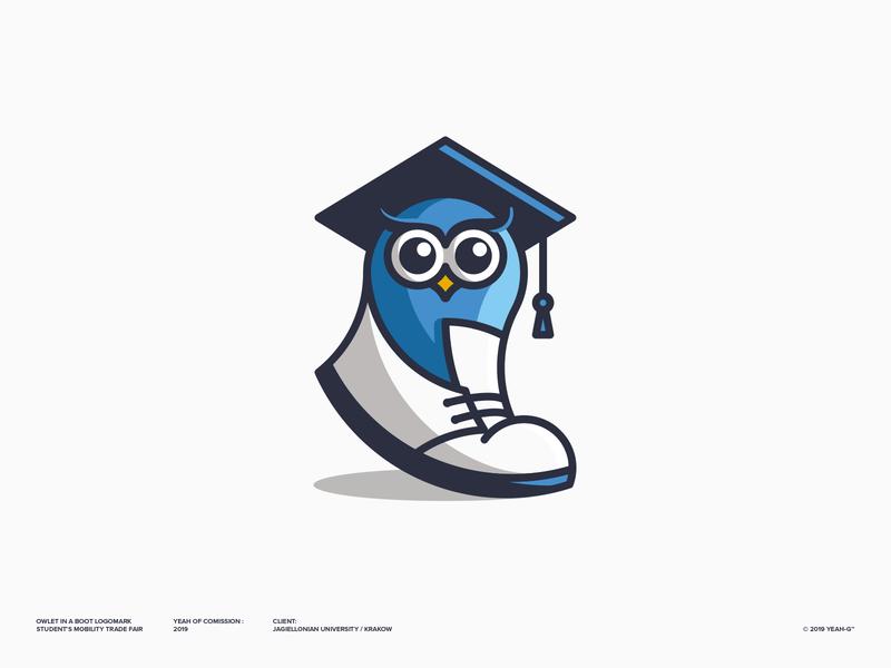 Owlet in da boot character design minimal flat logo designs logodesigner logo designer logos logotype brand identity brand design branding design branding logo design branding owl mascot logos mascot logo flat logo logo design logodesign logo