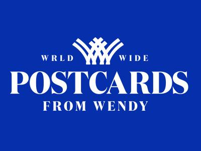 Postcards From Wendy ui ux app vector typography logo illustration icon design branding