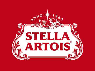 Stella Artois ux app icon vector ui typography logo illustration design branding
