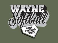Wayne Softball Lady Falcons 2020