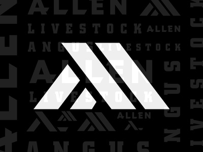 Branding Direction for a Cattle Company modern farm iowa livestock beef cow cattle angus monogram