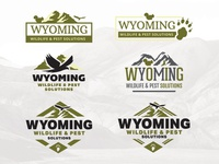 Logo Options for Wyoming Wildlife & Pest Solutions