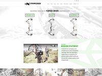 Revamp of Xpedition Archery's Homepage