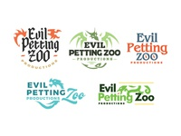 First Round of Logo Options for Evil Petting Zoo Productions