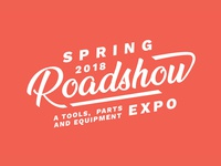 Type Treatment for a Roadshow Expo