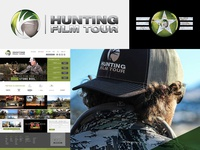 Branding & Web Design for Hunting Film Tour