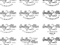 Hand Drawn Marks for a Film Maker.