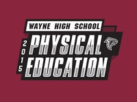 2015 PE Shirt Graphic for Wayne High School