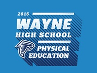 2016 PE Shirt Graphic for Wayne High School