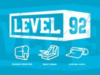 Level 92 Branding & Icons