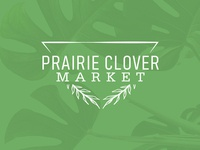 Prairie Clover Market Logo