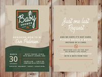 National Park themed Baby Shower