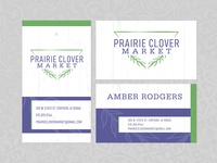 Hang Tags & Business Card for a Boutique