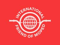 International Friend of Moped Badge