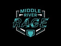 Middle River Rage Softball Shirt Graphic