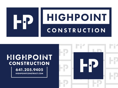 Highpoint Construction Branding