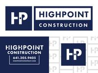 Highpoint Construction Branding