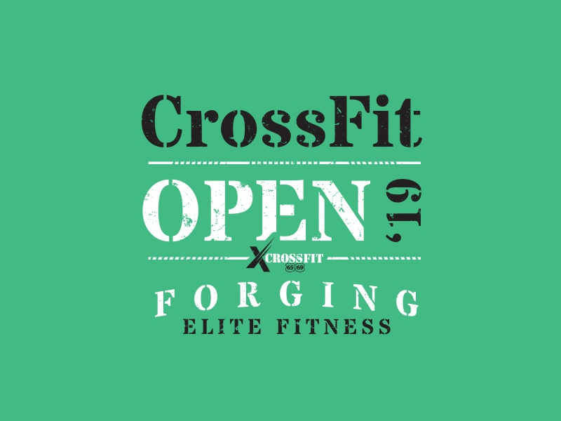 CrossFit Open 2019 lifting weight elite gym workout athlete fitness fit crossfit