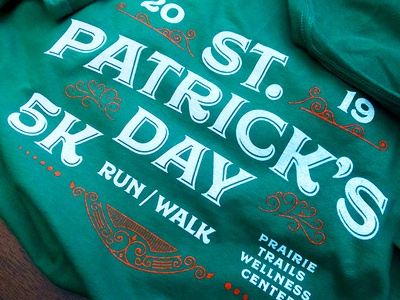 St. Patrick's Day 5K Shirt Design