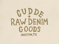 Gudde Raw Denim Goods