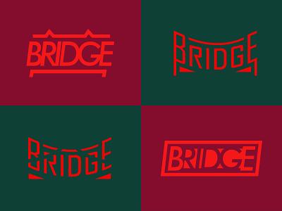 Bridge Wordmark mark type mark type logo wordmarks text logo bridge logo word logo wordmark bridge