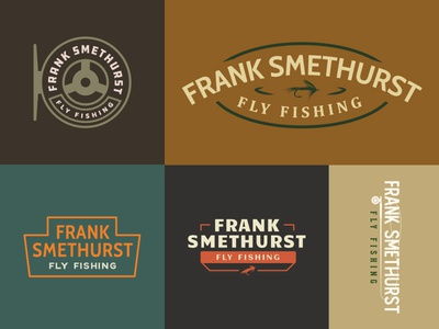 First Round Fly Fishing Logo Options