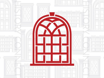 History Connect Symbol & Illustration connect historic building illustration window ornate building ornate building historical history