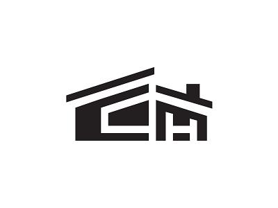 Killed Symbol for a Homebuilder construction elegant logo midcentury icon house modern house modern homebuilder home