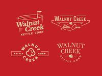 Walnut Creek Kettle Corn Logo Options