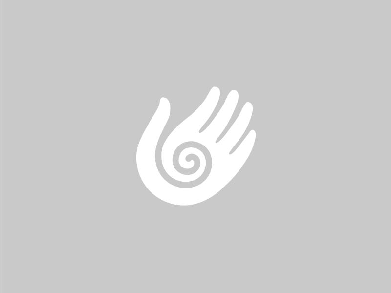 Healing Hand spiral fertility hand