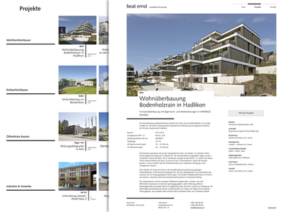 Beat Ernst Architects responsive minimal