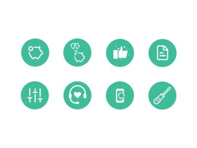Icon Design for VIAC icon icons