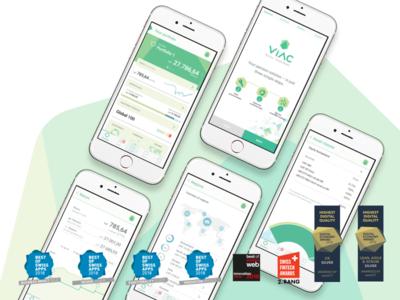 Awards app branding mobile app awards ui design ux