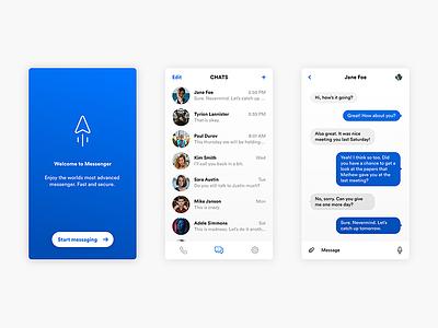 Direct Messaging first shot direct messaging debut messenger social message